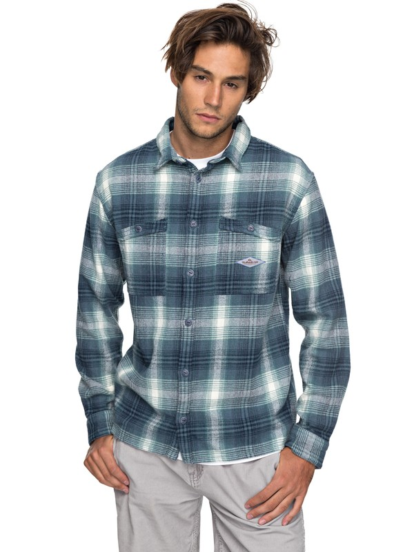 0 Malako Beach Flannel Shirt  EQYWT03637 Quiksilver