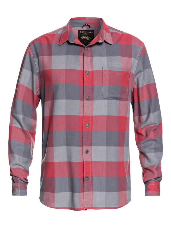 Stretch Flannel - Water-Resistant Long Sleeve Shirt for Men EQYWT03693