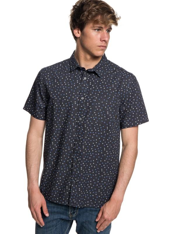 0 Hibashii Short Sleeve Shirt Black EQYWT03706 Quiksilver