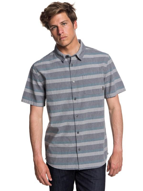 0 Tama Kai Short Sleeve Shirt Blue EQYWT03713 Quiksilver