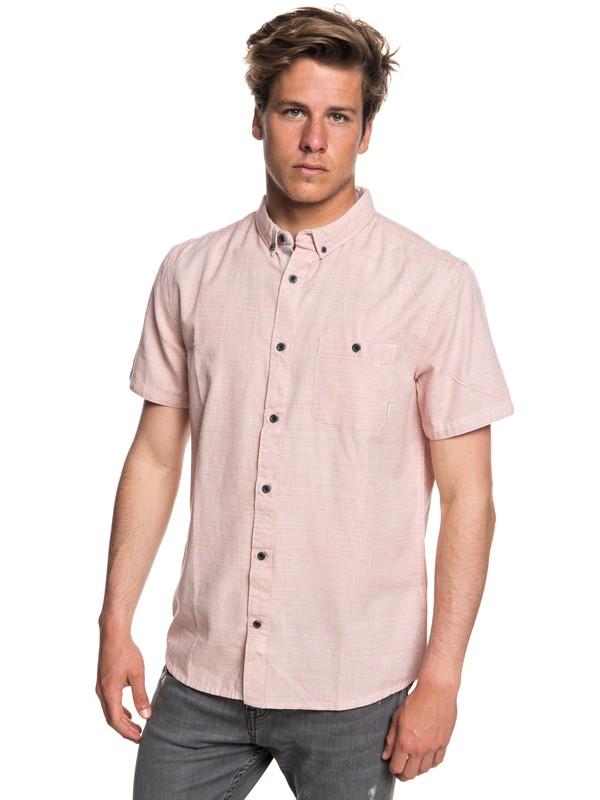 0 Waterfalls Short Sleeve Shirt Pink EQYWT03723 Quiksilver
