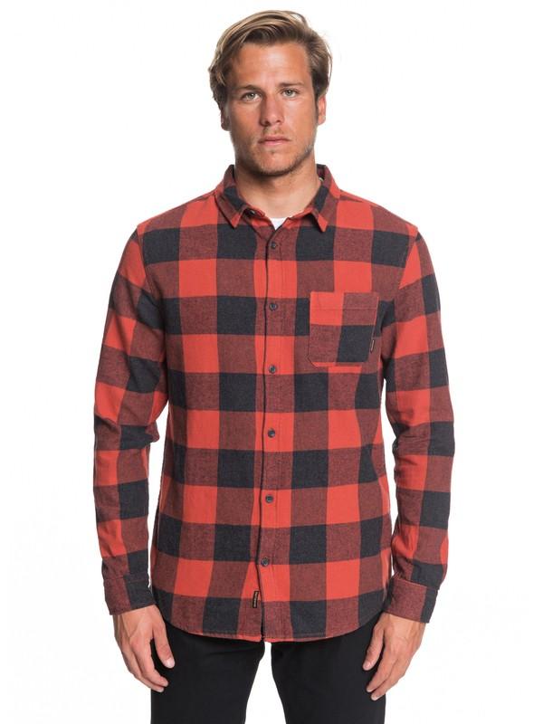 0 Рубашка с длинным рукавом Motherfly Flannel Красный EQYWT03728 Quiksilver