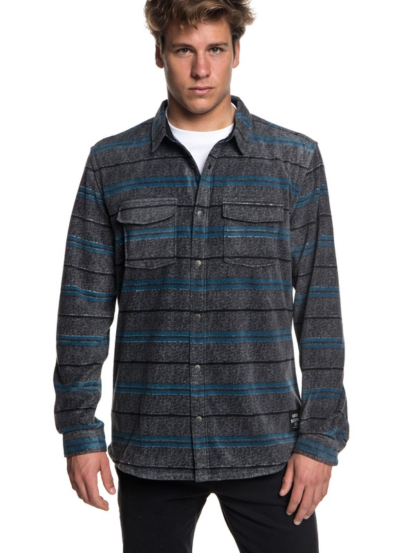 0 Surf Days Long Sleeve Shirt Black EQYWT03731 Quiksilver