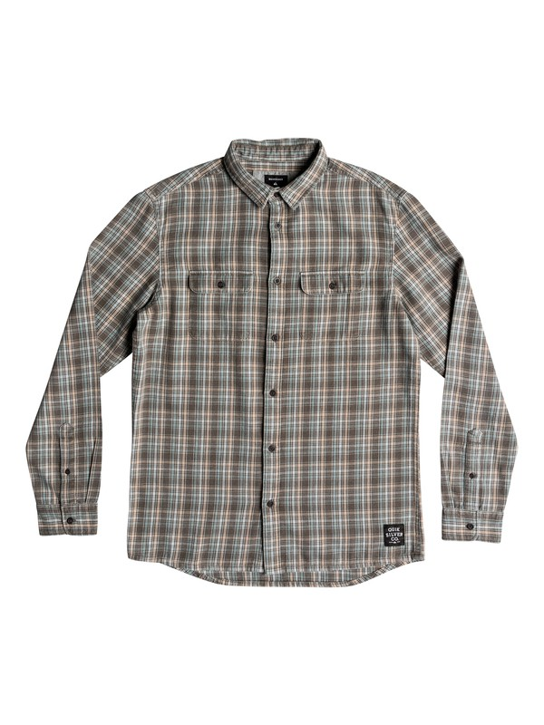 0 Fuji Tang Long Sleeve Shirt Grey EQYWT03746 Quiksilver