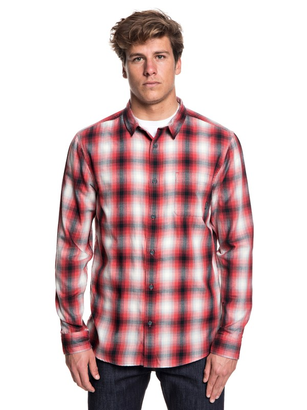 0 Kyoto Color Long Sleeve Shirt Red EQYWT03748 Quiksilver