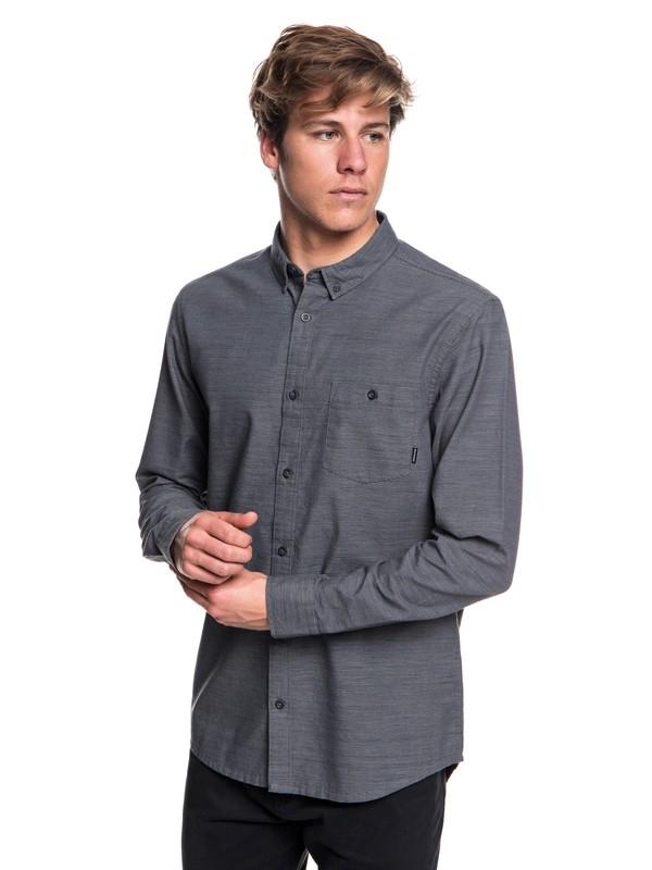 0 Minoo Valley Long Sleeve Shirt Black EQYWT03763 Quiksilver