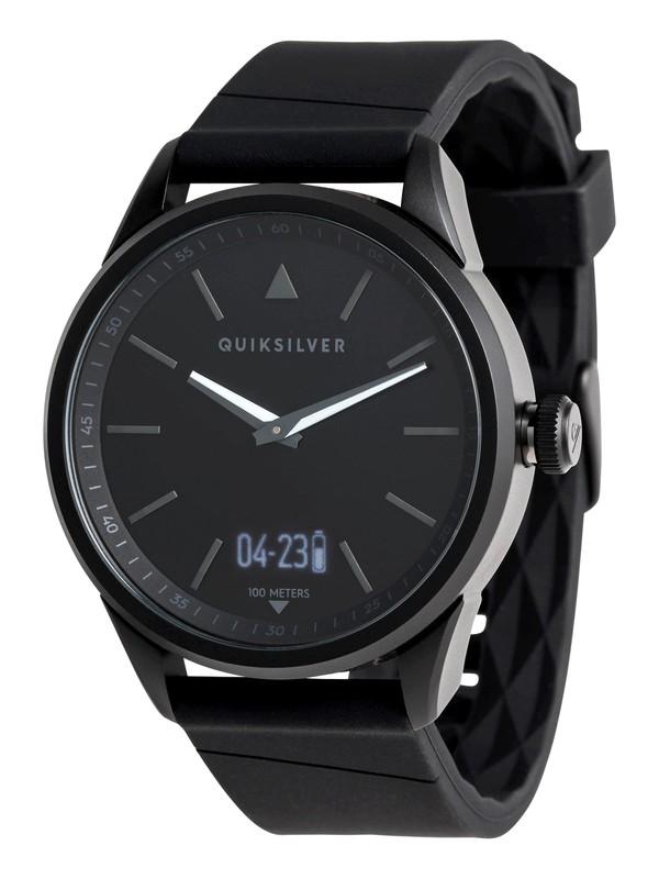 0 The Timebox Activ - Analoge Digitaluhr für Männer Schwarz EQYWT03773 Quiksilver