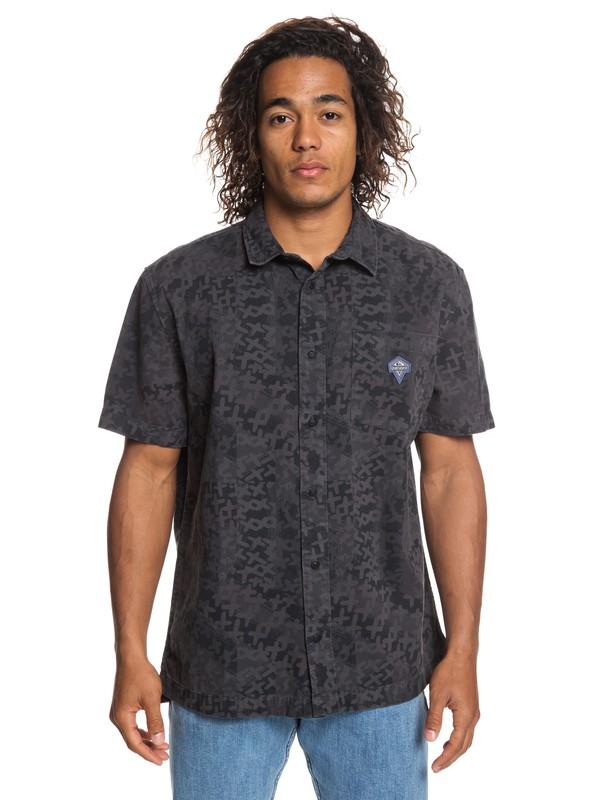 0 Originals Short Sleeve Shirt Black EQYWT03780 Quiksilver