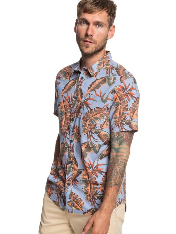 0 Noosa Paradise - Camisa de Manga Corta para Hombre Azul EQYWT03786 Quiksilver