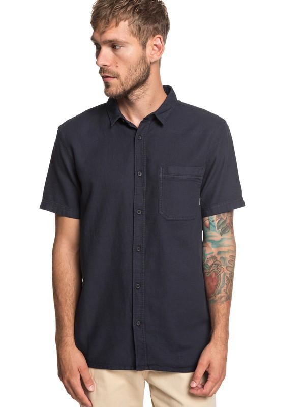 0 Рубашка с коротким рукавом Time Box Черный EQYWT03789 Quiksilver