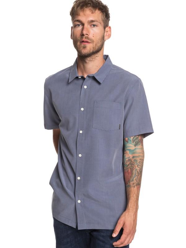 0 Goff Cove Short Sleeve Shirt Blue EQYWT03812 Quiksilver