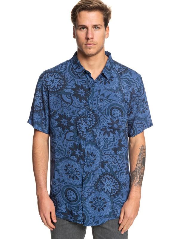 0 Dreamer Short Sleeve Shirt Blue EQYWT03823 Quiksilver