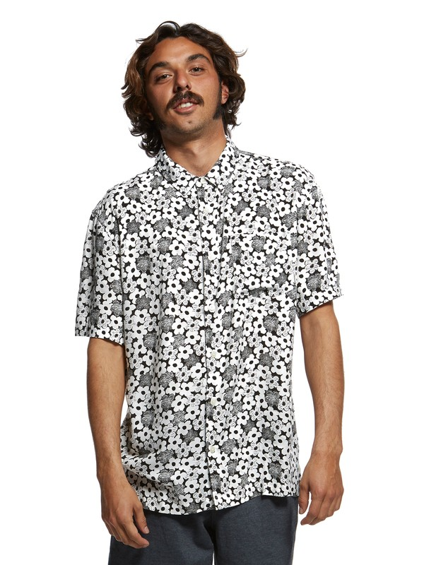 0 Originals Fluid Short Sleeve Shirt White EQYWT03831 Quiksilver