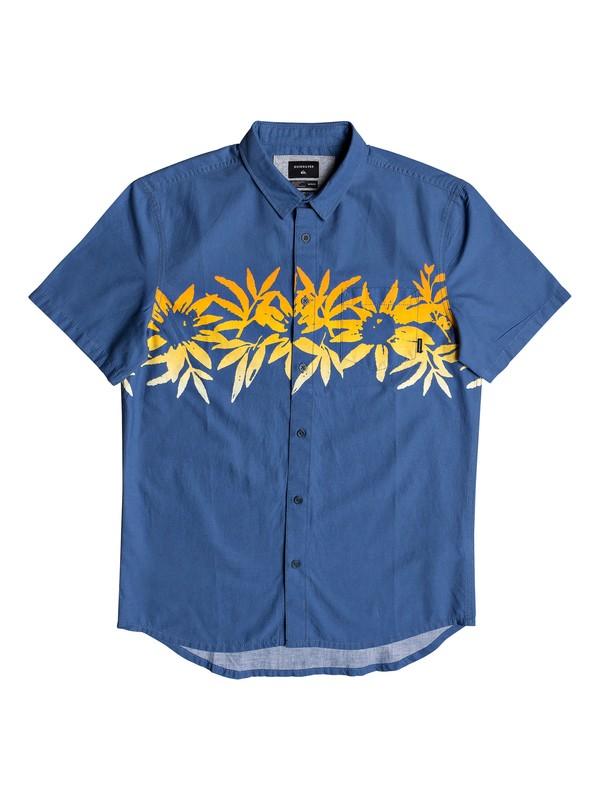 0 Choppa Short Sleeve Shirt Blue EQYWT03840 Quiksilver