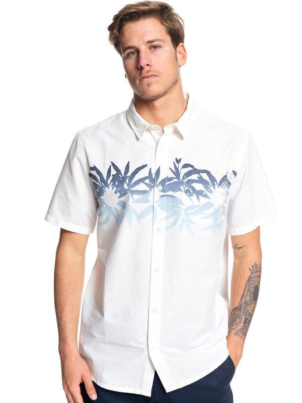 0 Choppa Short Sleeve Shirt White EQYWT03840 Quiksilver