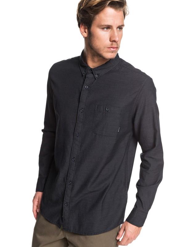 0 Waterfall Long Sleeve Shirt Black EQYWT03844 Quiksilver