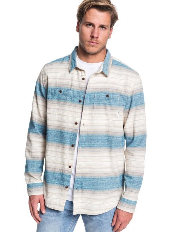Inca Gold Stripe - Long Sleeve Shirt for Men  EQYWT03846