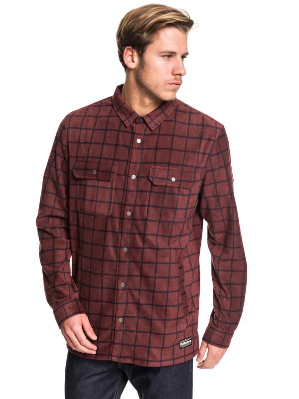 Surf Days - Long Sleeve Polar Fleece Shirt for Men  EQYWT03849