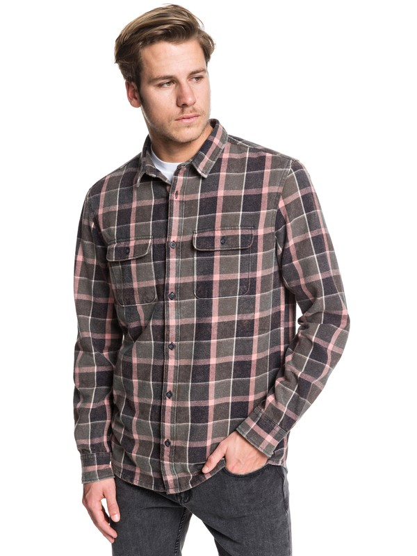 0 Mitta Tang Long Sleeve Shirt Brown EQYWT03851 Quiksilver