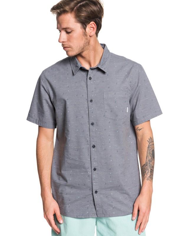 0 Magnetic Roll Short Sleeve Shirt Black EQYWT03857 Quiksilver
