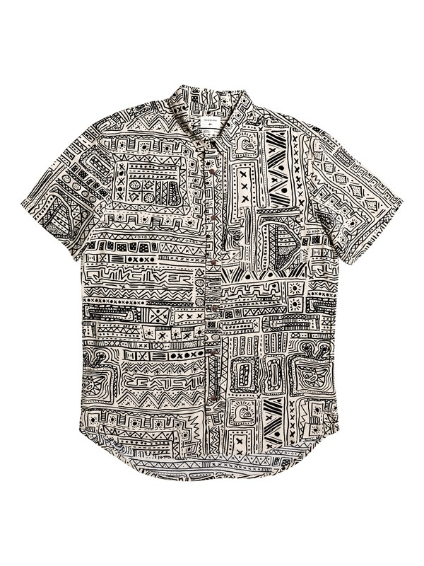 0 Ningaloo Reef Short Sleeve Shirt Beige EQYWT03859 Quiksilver