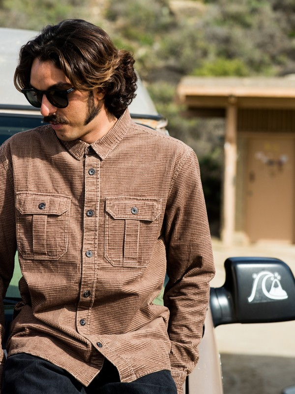 Sara Toga - Long Sleeve Corduroy Shirt for Men  EQYWT03867
