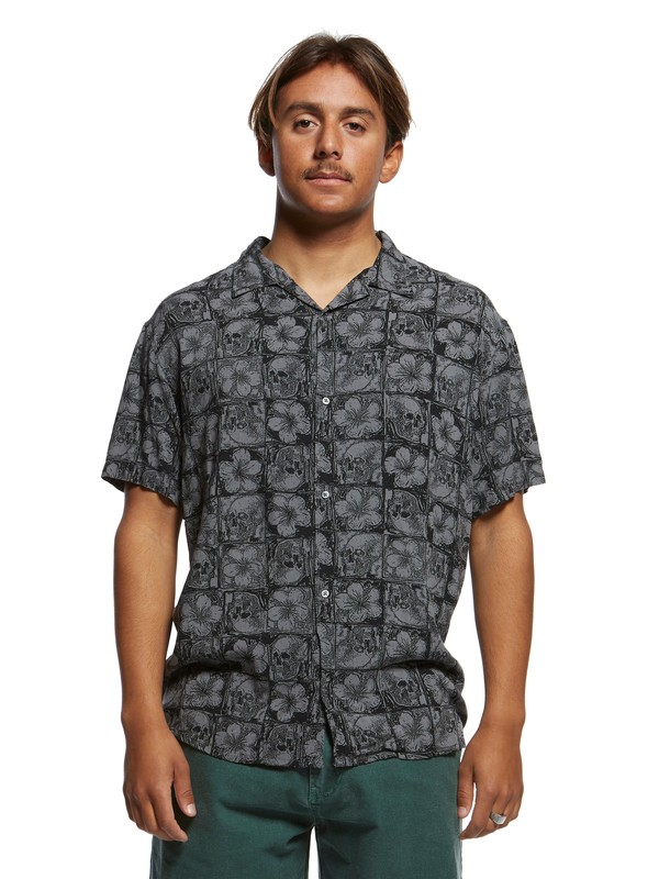 0 The Originals Short Sleeve Shirt Black EQYWT03875 Quiksilver
