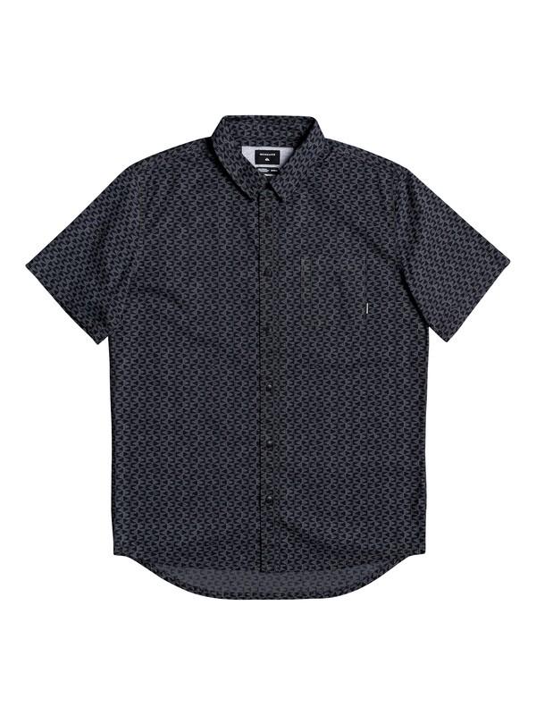 0 Geo Spot Short Sleeve Shirt Black EQYWT03901 Quiksilver