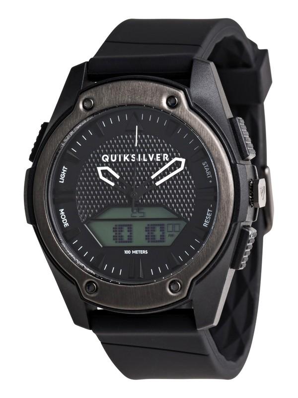 0 Stringer Analog-Digital Watch for Men Black EQYWT03974 Quiksilver