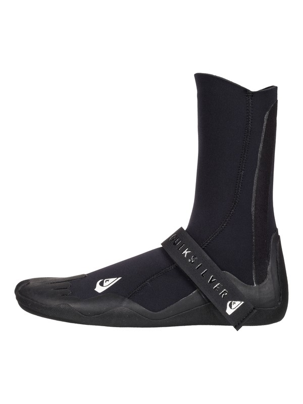0 3mm Syncro - Round Toe Surf Boots Black EQYWW03009 Quiksilver