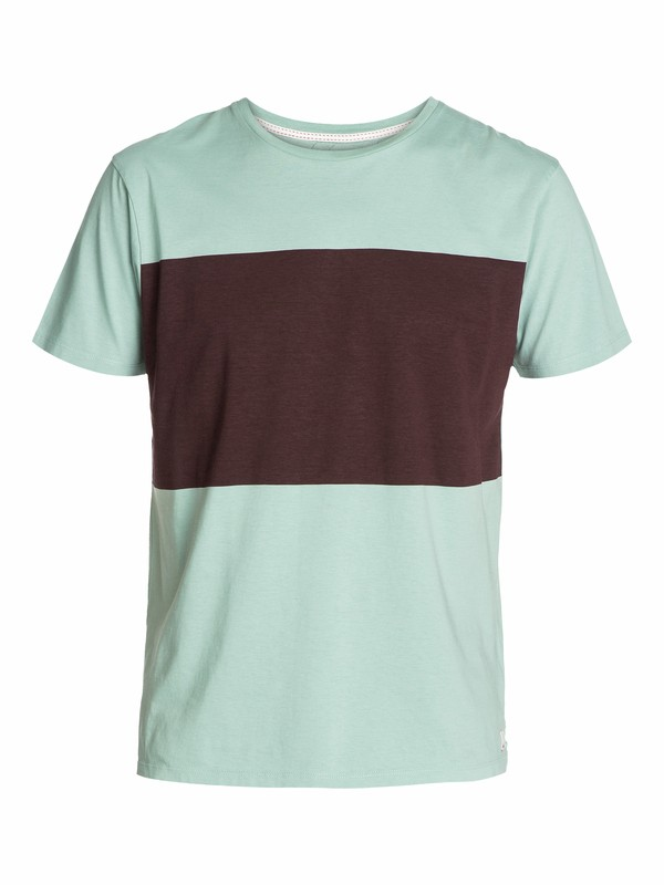 0 Block Slim Fit T-Shirt  EQYZT03039 Quiksilver