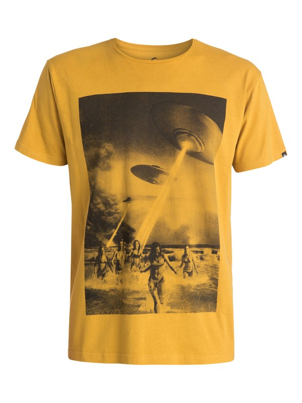 0 Organic Beach Attack - T-shirt  EQYZT03384 Quiksilver