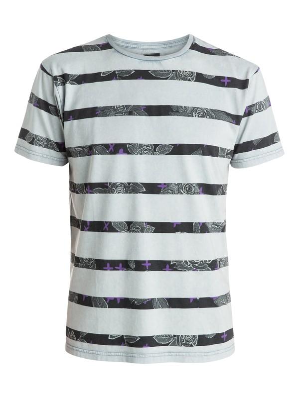 0 Acid Stripes Premium Fit  T-Shirt  EQYZT03515 Quiksilver