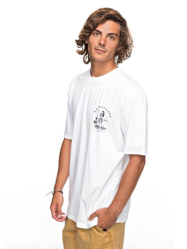 0 Curve Love - T-Shirt für Männer Weiss EQYZT04738 Quiksilver