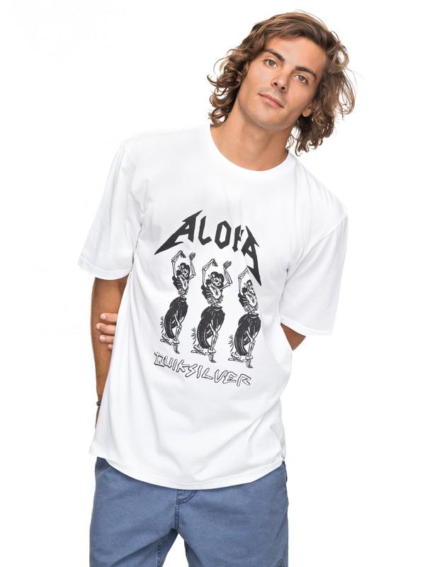 0 Peach Buzz - T-Shirt für Männer Weiss EQYZT04739 Quiksilver