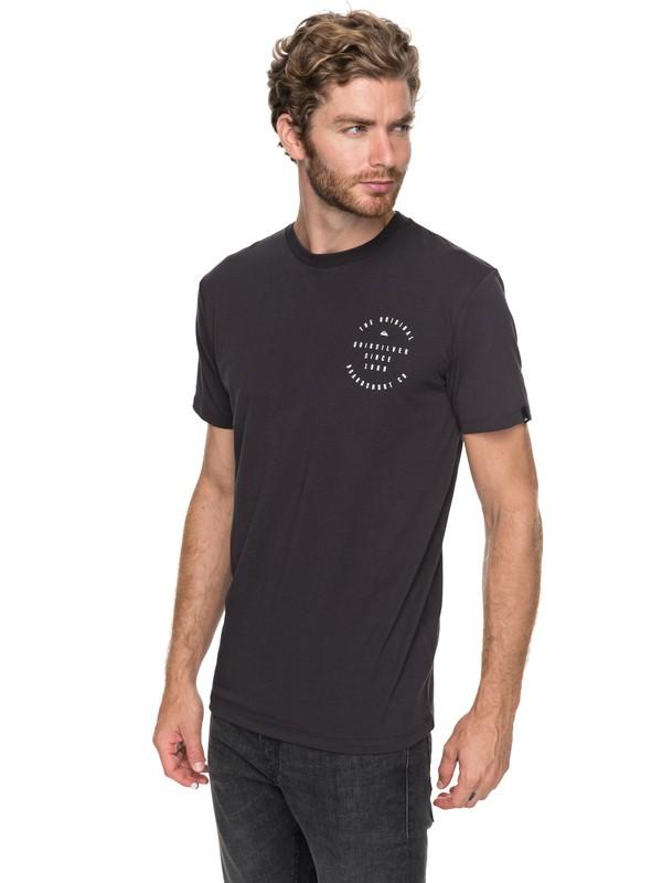 0 Dome Speak - Funktionelles T-Shirt für Männer Schwarz EQYZT04747 Quiksilver