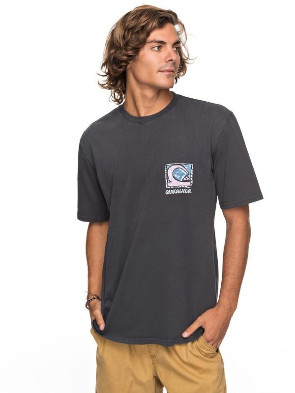0 Durable Dens Way - T-Shirt für Männer Schwarz EQYZT04759 Quiksilver