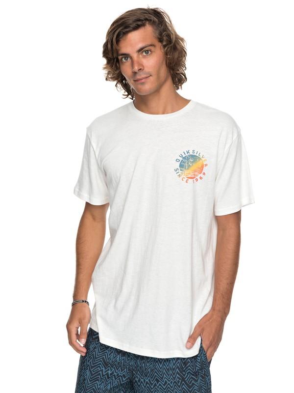 0 Rocky Rights - Maglietta da Uomo White EQYZT04766 Quiksilver