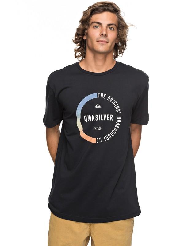 0 Classic Revenge - T-Shirt für Männer Schwarz EQYZT04777 Quiksilver