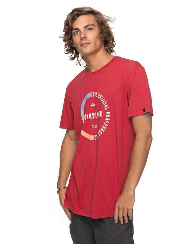 0 Classic Revenge - T-Shirt für Männer Rot EQYZT04777 Quiksilver