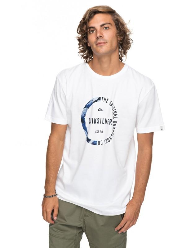 0 Classic Revenge - T-Shirt für Männer Weiss EQYZT04777 Quiksilver