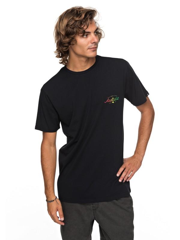 0 Classic Bering Way - T-Shirt für Männer Schwarz EQYZT04788 Quiksilver