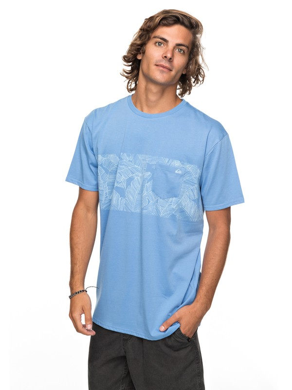 0 Mantra Right - Pocket-T-Shirt für Männer Blau EQYZT04790 Quiksilver