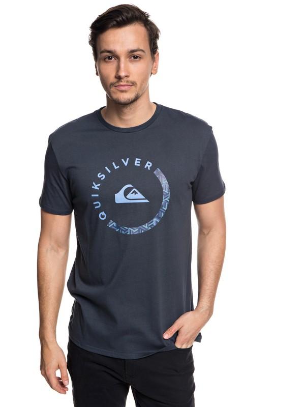 0 Slab Session - T-Shirt for Men Blue EQYZT04940 Quiksilver