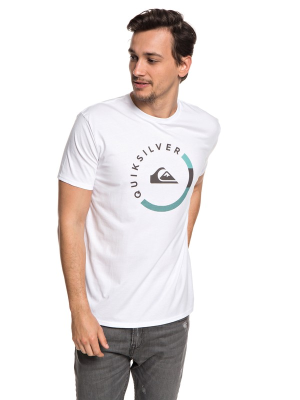 0 Slab Session - T-Shirt for Men White EQYZT04940 Quiksilver