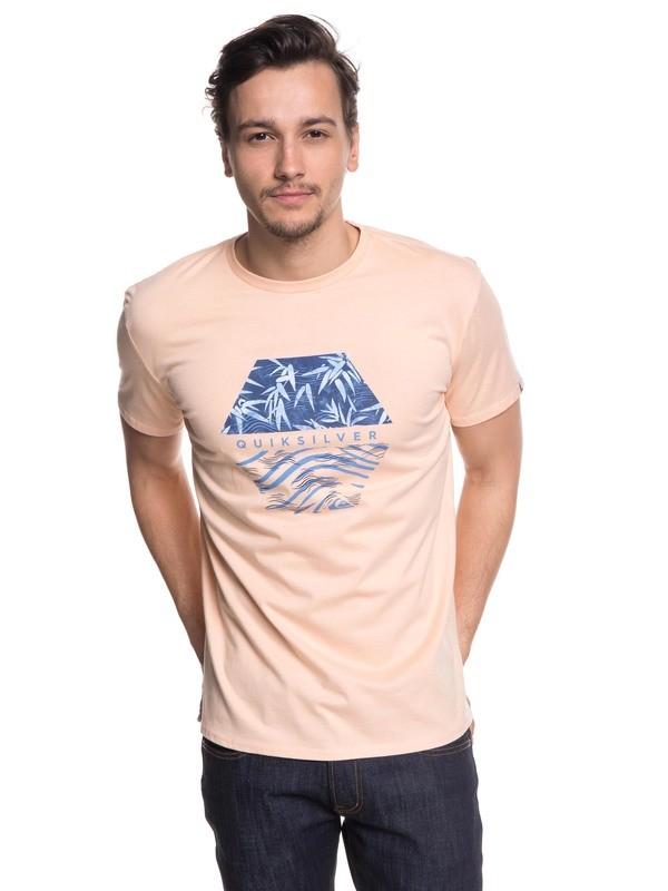 0 Bamboo Breakfast - Camiseta Rosa EQYZT04941 Quiksilver