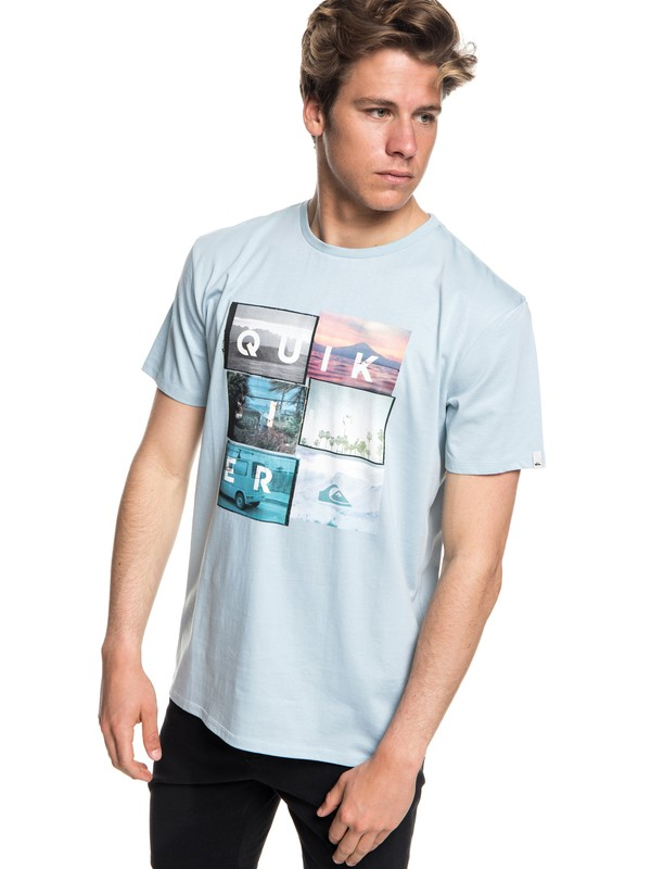 0 Local Motive - Camiseta Azul EQYZT04947 Quiksilver