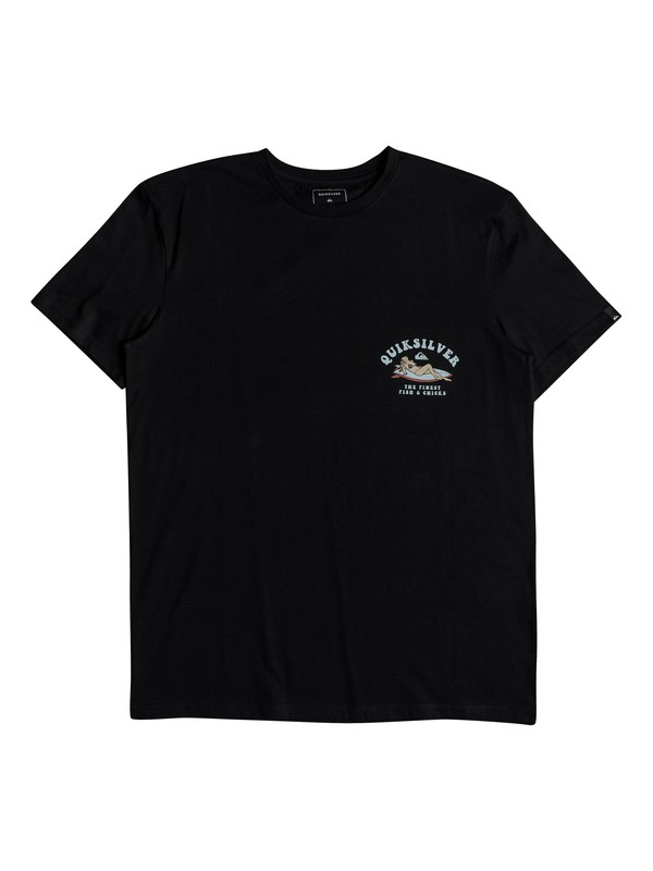 0 Fish And Chicks - T-Shirt for Men Black EQYZT04953 Quiksilver