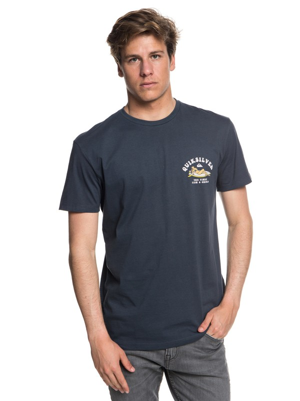 0 Fish And Chicks - T-Shirt for Men Blue EQYZT04953 Quiksilver