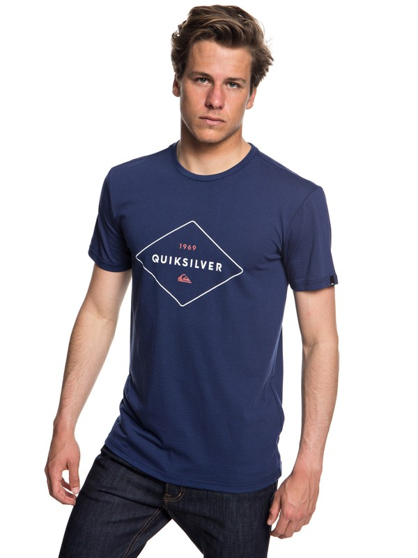 0 Fluid Flow - Camiseta técnica con UPF 30 para Hombre Azul EQYZT04967 Quiksilver